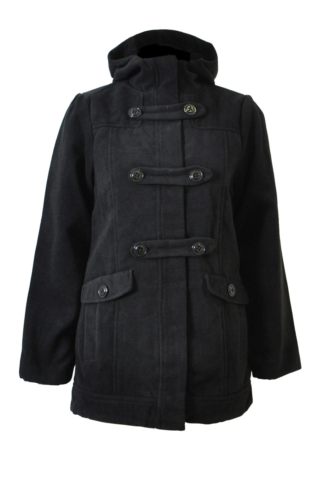 Girls Duffle Coat with Hood