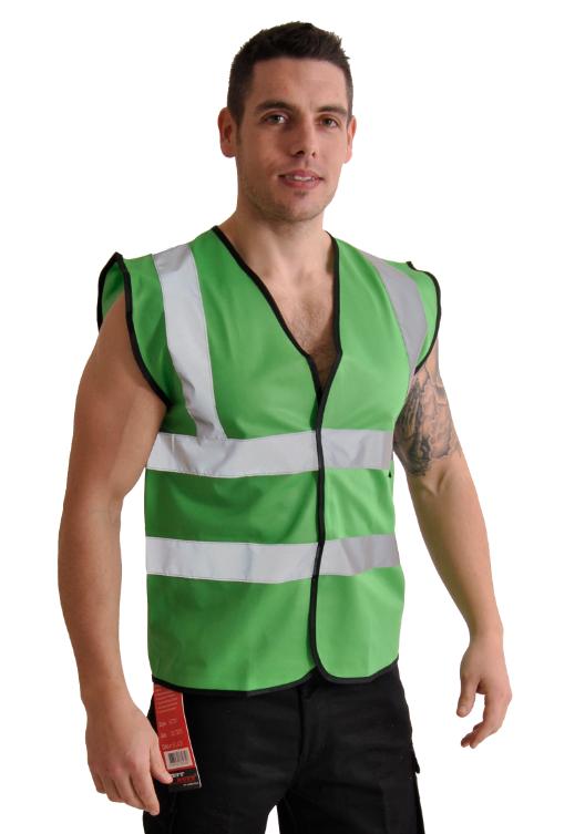Corporate Wear Lime Green Vest