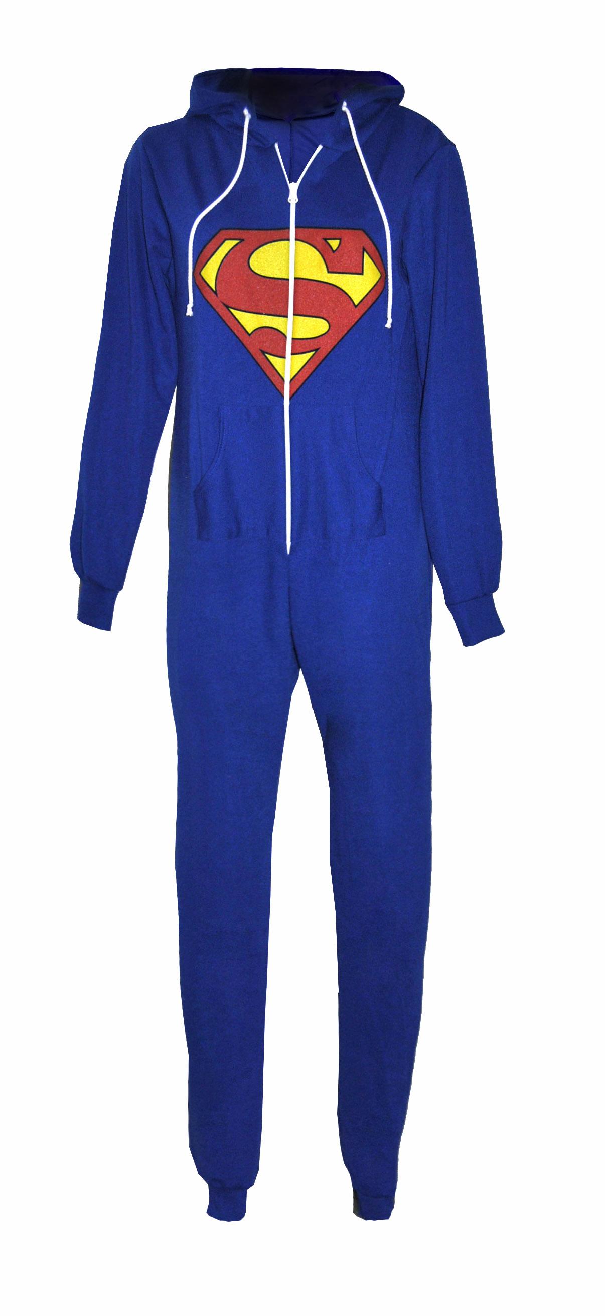 Superman Supergirl Caped Sleep Tank Dress Adult Womens Costume