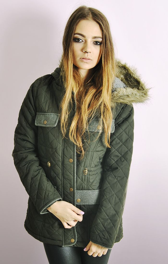 Quilted Jackets Womens