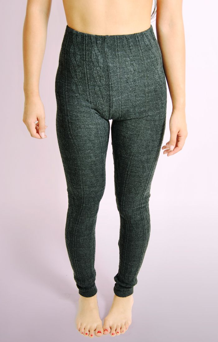 c7a7dd4869a85 Cable Knit Leggings